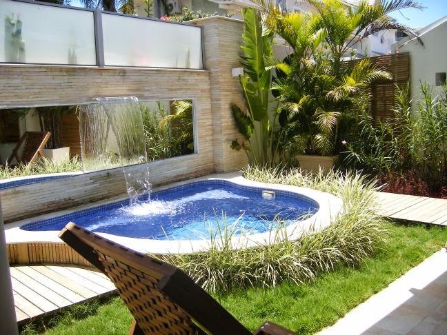 Piscinas pequenas confira essas ideias salles im veis for Limpiafondos para piscinas pequenas
