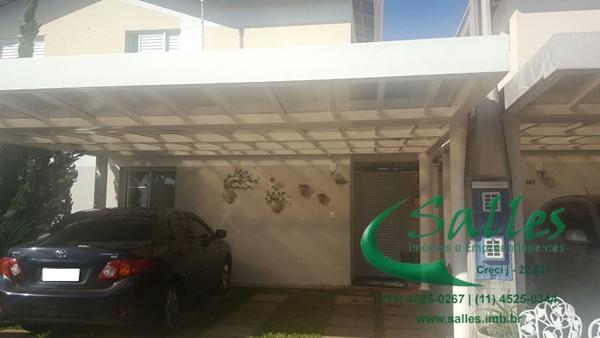 Casas em Jundiaí - Condomínio Fechado -  3853 Salles Imoveis