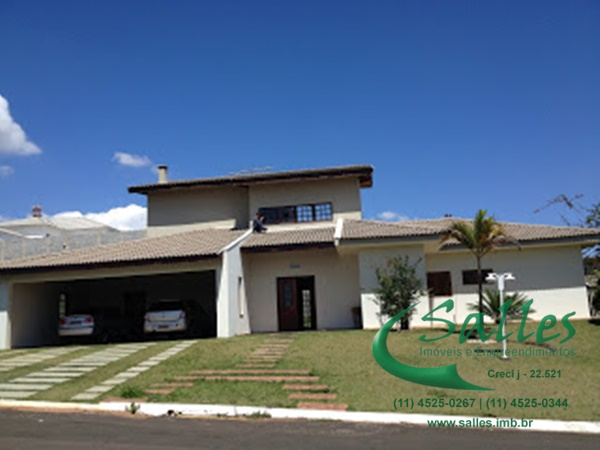Casas em Jundiaí - Condomínio Fechado -  3881 Salles Imoveis
