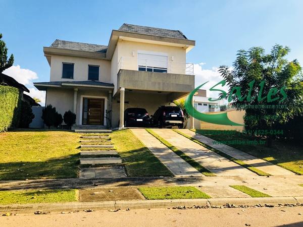 Casas em Jundiaí - Condomínio Fechado -  3906 Salles Imoveis